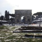 Roma sub asediul zapezii,februarie 2011