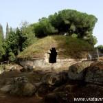 Necropola etruscă de la Cerveteri sau Oraşul Morților