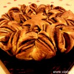 Pan brioche cu Nutella, arătoasă şi gustoasă