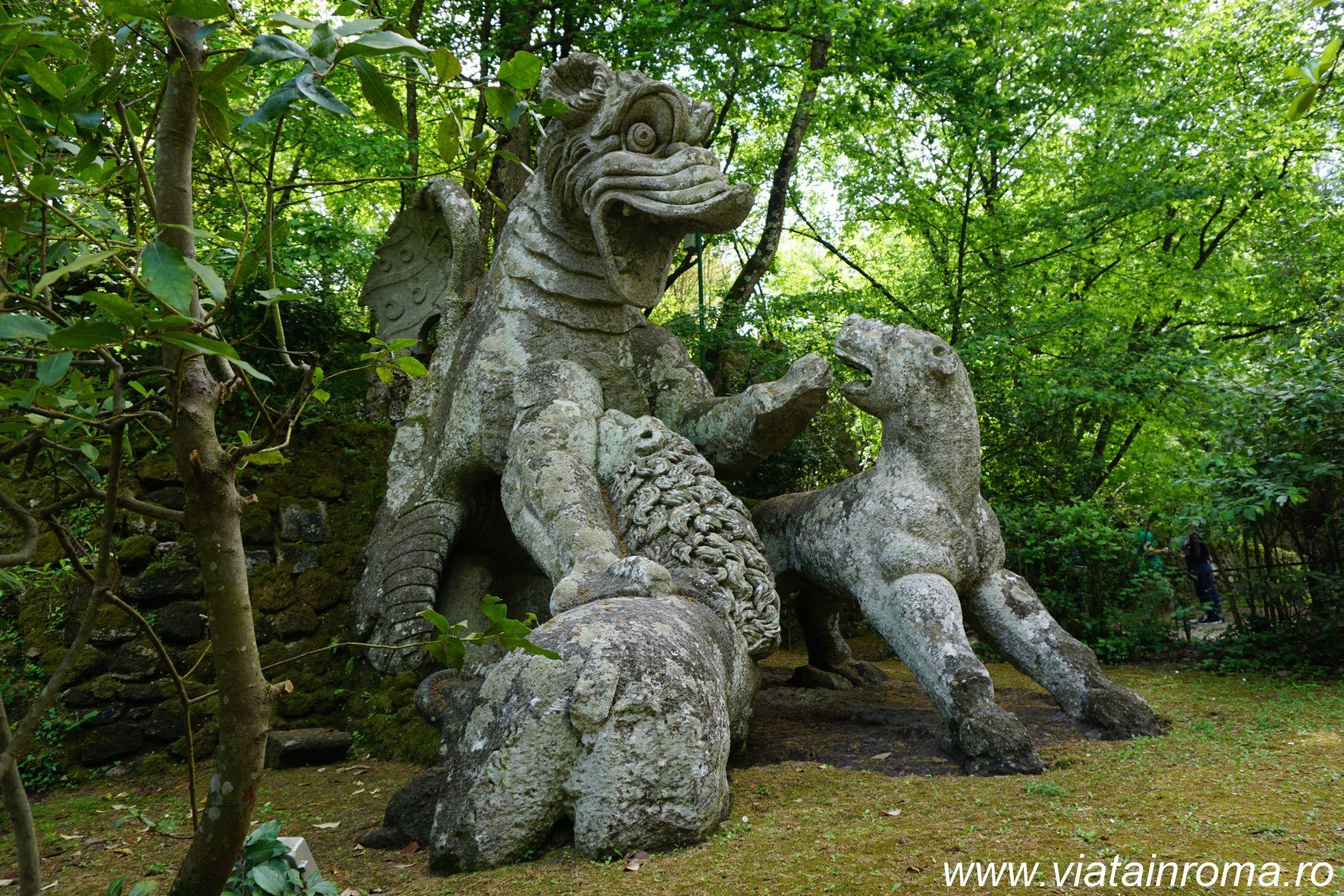 parcul monstrilor parco dei mostri