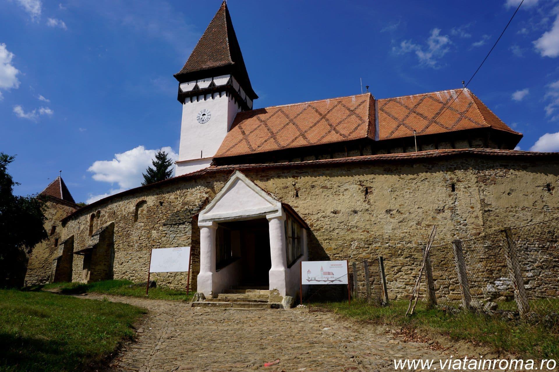 biserici fortificate mesendorf
