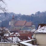 Brașov în februarie